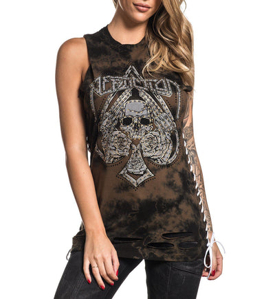 Hollow Point - Womens Tank Tops - Affliction Clothing