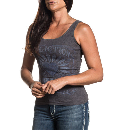 Sweet Whisky - Womens Tank Tops - Affliction Clothing
