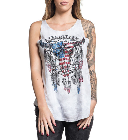 Nightrain Corset Tank Top