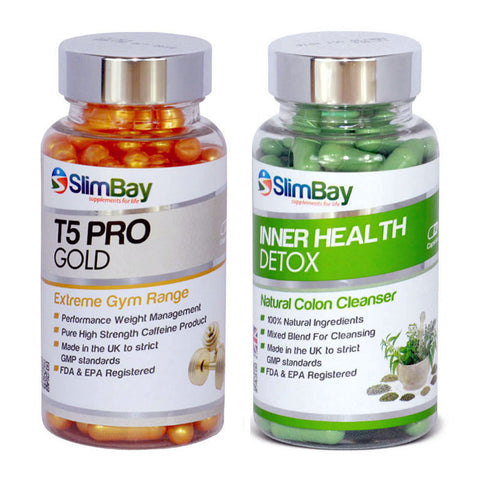 T5 Pro Gold and Inner Health Detox Combo Bundle