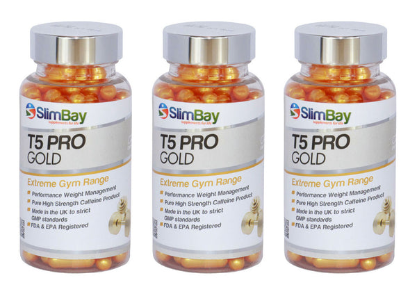 SlimBay T5 Fat Burner, Strong Slimming Supplements