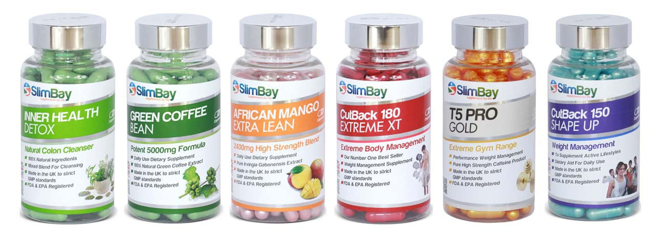 SlimBay Supplements Range