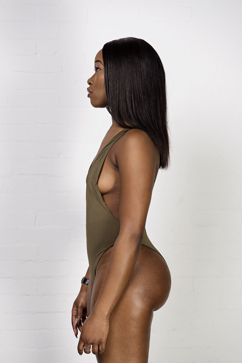 Skylar One Piece Khaki