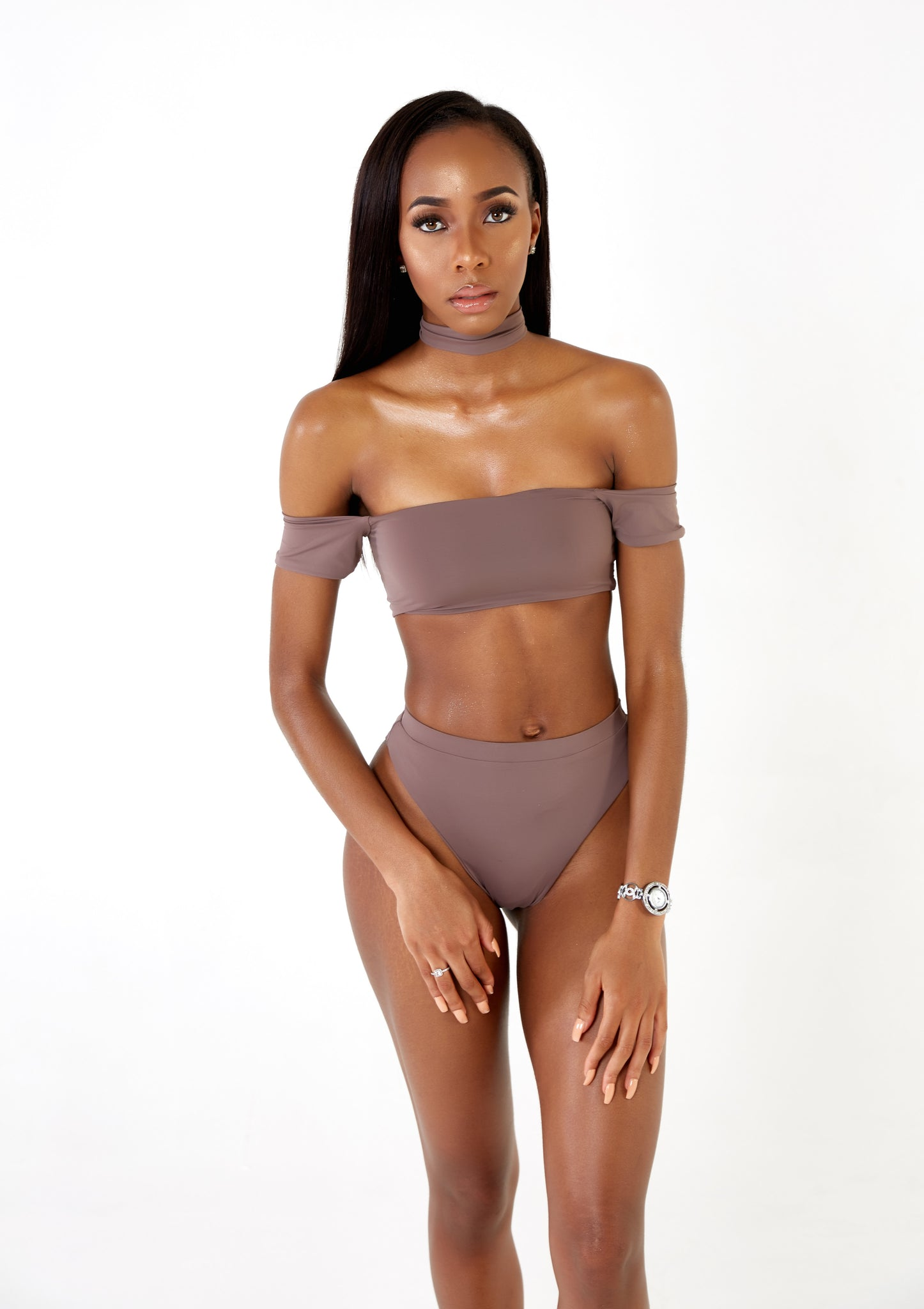 Ophilia Top Taupe
