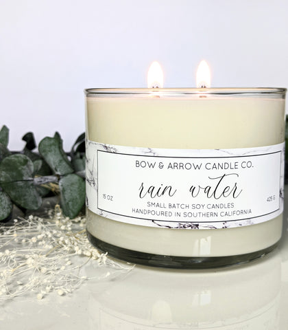 Cucumber Melon Scented 15 oz Soy Candle
