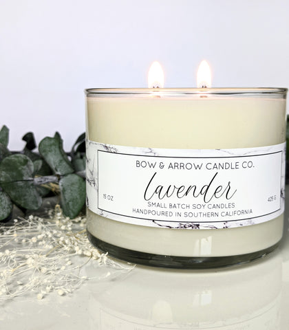Rain Water Scented 15 oz Soy Candle