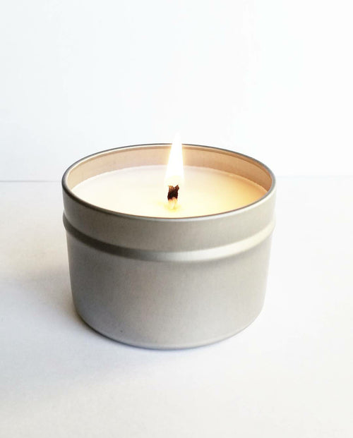 Cedarwood Vanilla Scented 2 oz Soy Candle