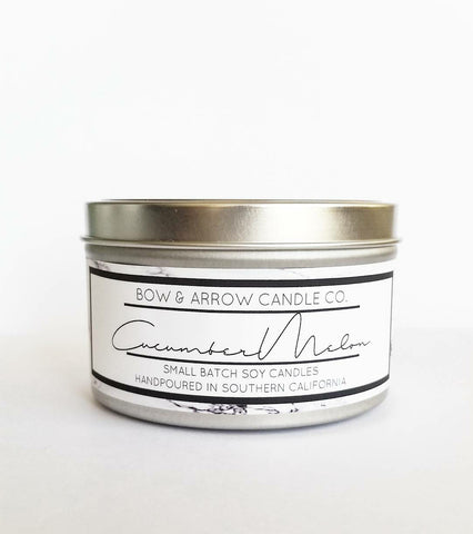 Fresh Cut Grass Scented 8 oz Soy Candle