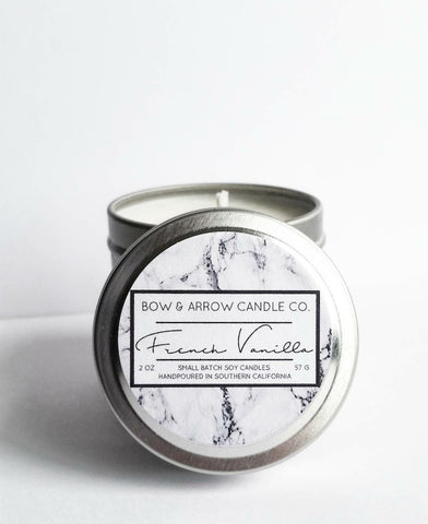 Oakmoss & Amber Scented 2 oz Soy Candle