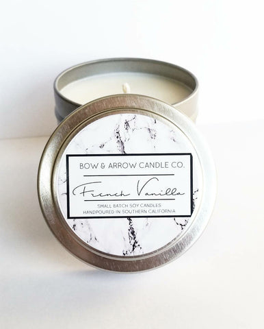 Cedarwood Vanilla Scented 4 oz Soy Candle