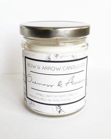 Tobacco & Bourbon Scented 7 oz Soy Candle