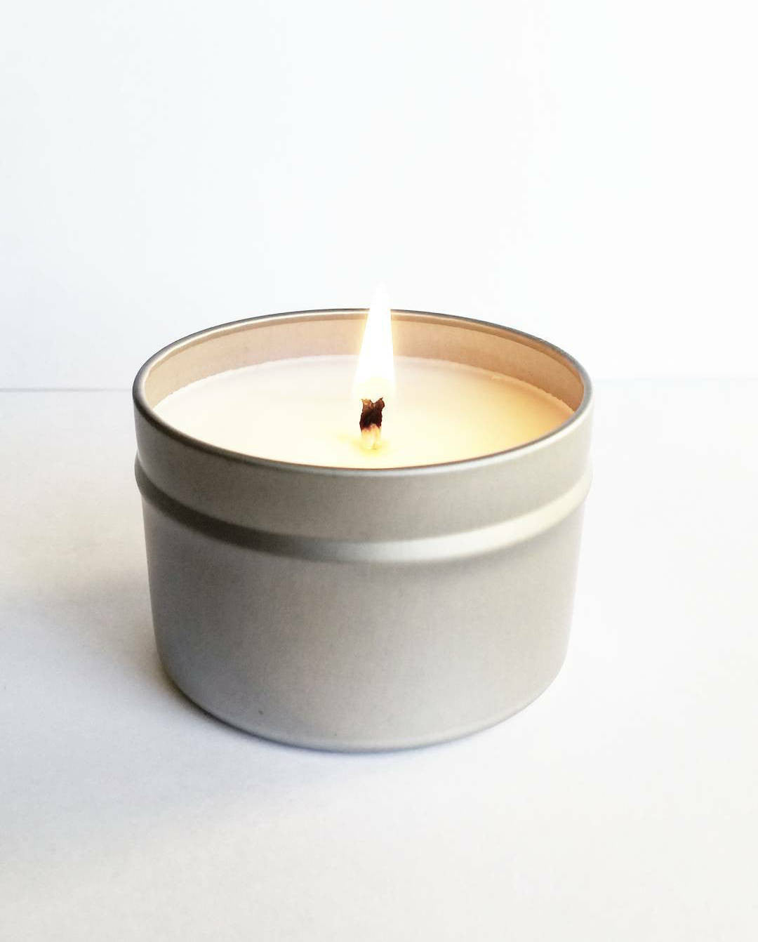 Clean Cotton Scented 2 oz Soy Candle