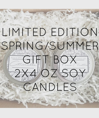 Citronella Scented 2 oz Soy Candle