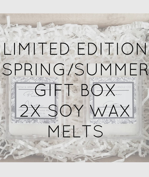 Pick Two Spring & Summer Soy Wax Melts Gift Box