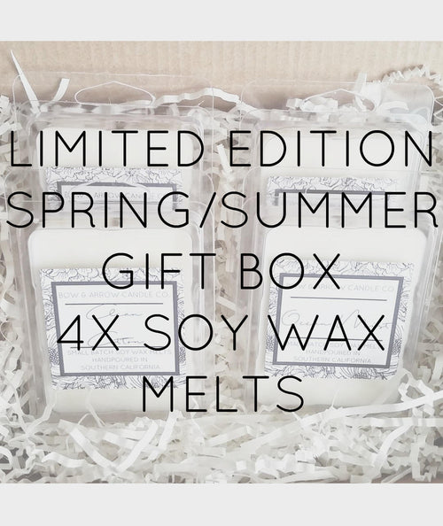 Pick Four Spring & Summer Soy Wax Melts Gift Box