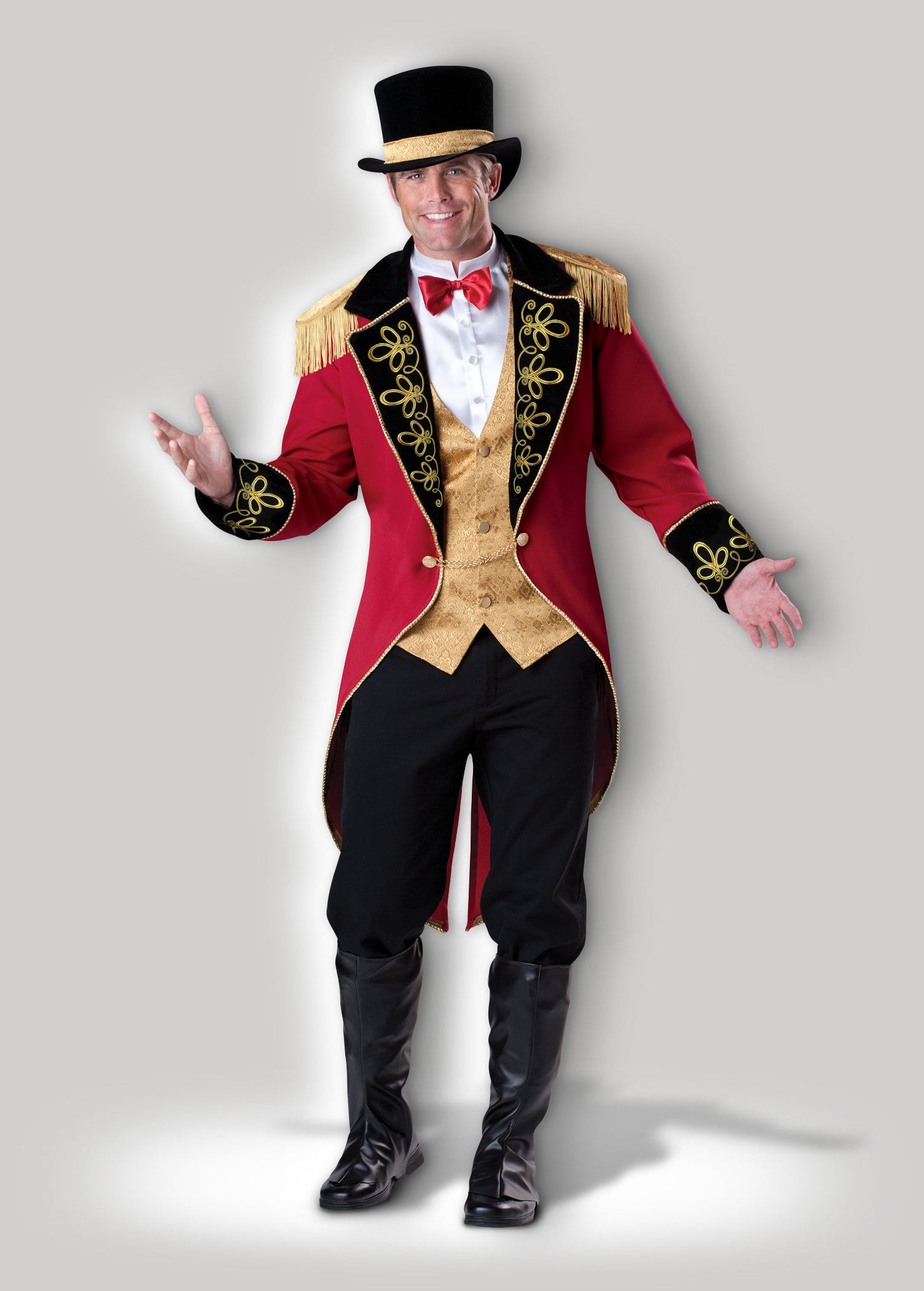 Ringmaster CM1092 & Ringmaster Deluxe Adult Costume u2013 InCharacter Costumes