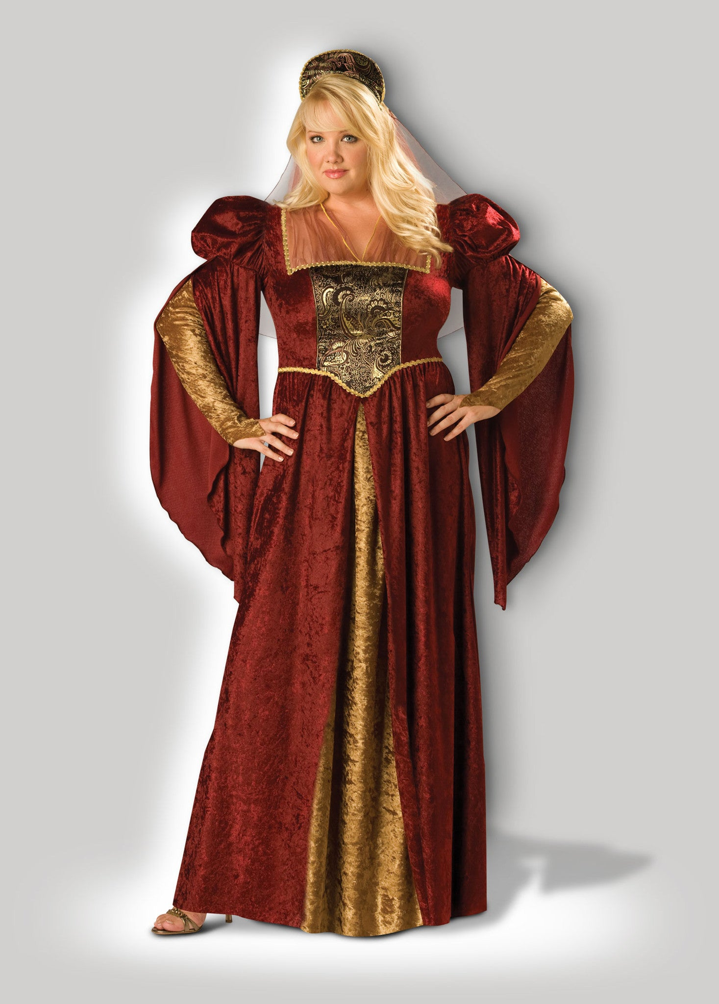 02e4ef6f6f3 Renaissance Maiden Plus Size Adult Costume – InCharacter Costumes