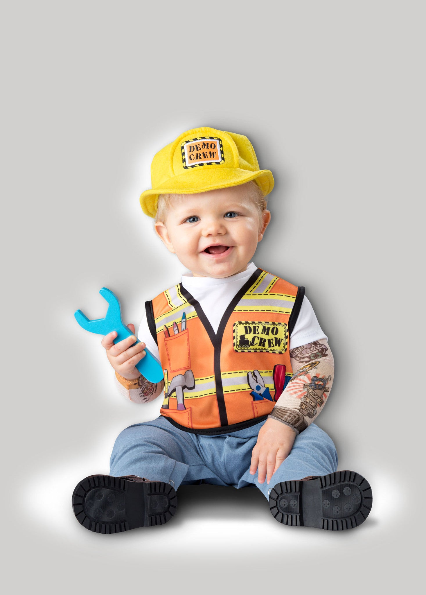 30e5b7e33 Baby Construction Worker Costume & Items Similar To Construction ...