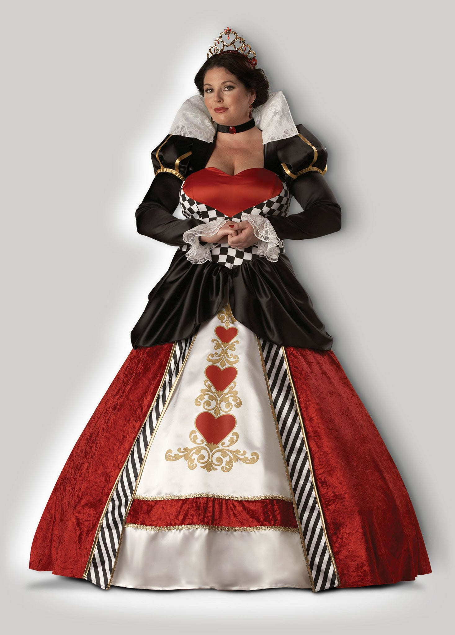 Queen of Hearts CW5017  sc 1 st  InCharacter Costumes & Unique deluxe plus size adult costumes by InCharacter Costumes