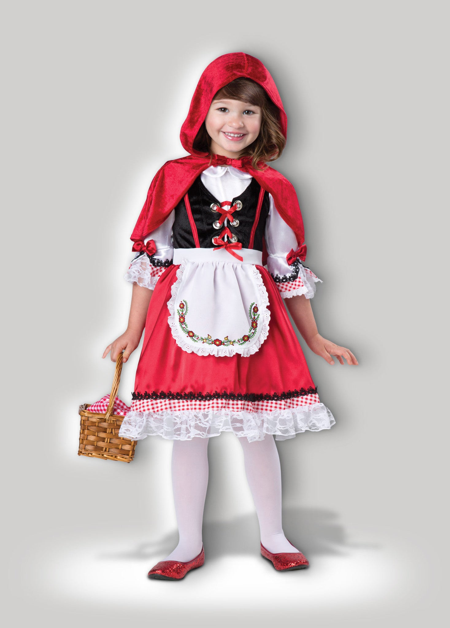 Little Red Riding Hood Deluxe Child Costume Incharacter Costumes