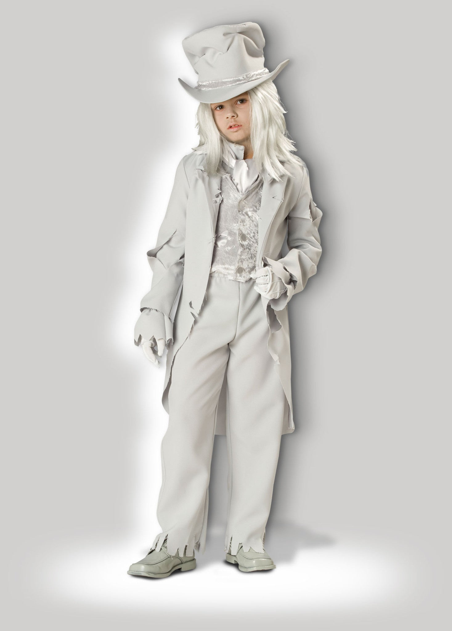 Ghostly Gent CB7023  sc 1 st  InCharacter Costumes & Deluxe Child Ghost Costume u2013 InCharacter Costumes