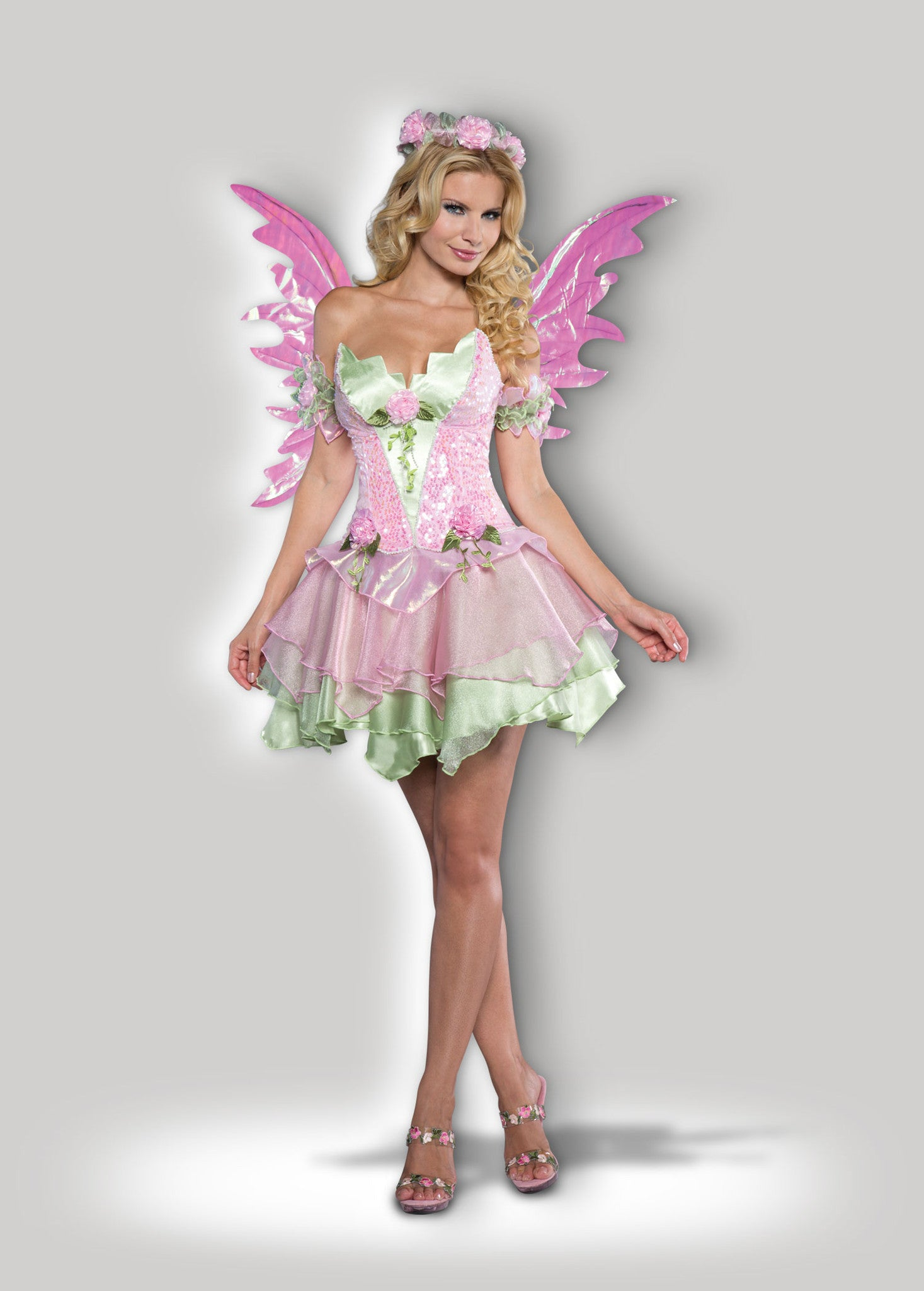 Sexy Fairy Deluxe Womens Costume  Incharacter Costumes-2204