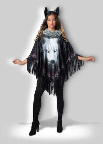Lone Wolf Poncho Instant Costume CAE12037