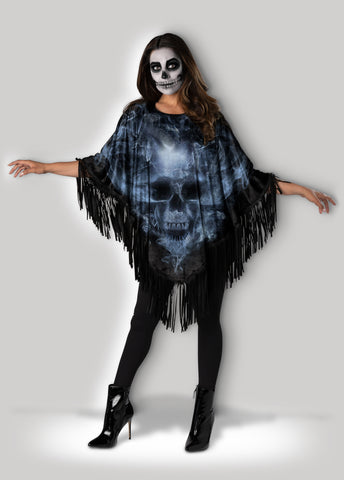 Spooky Skull Instant Costume CAE12046