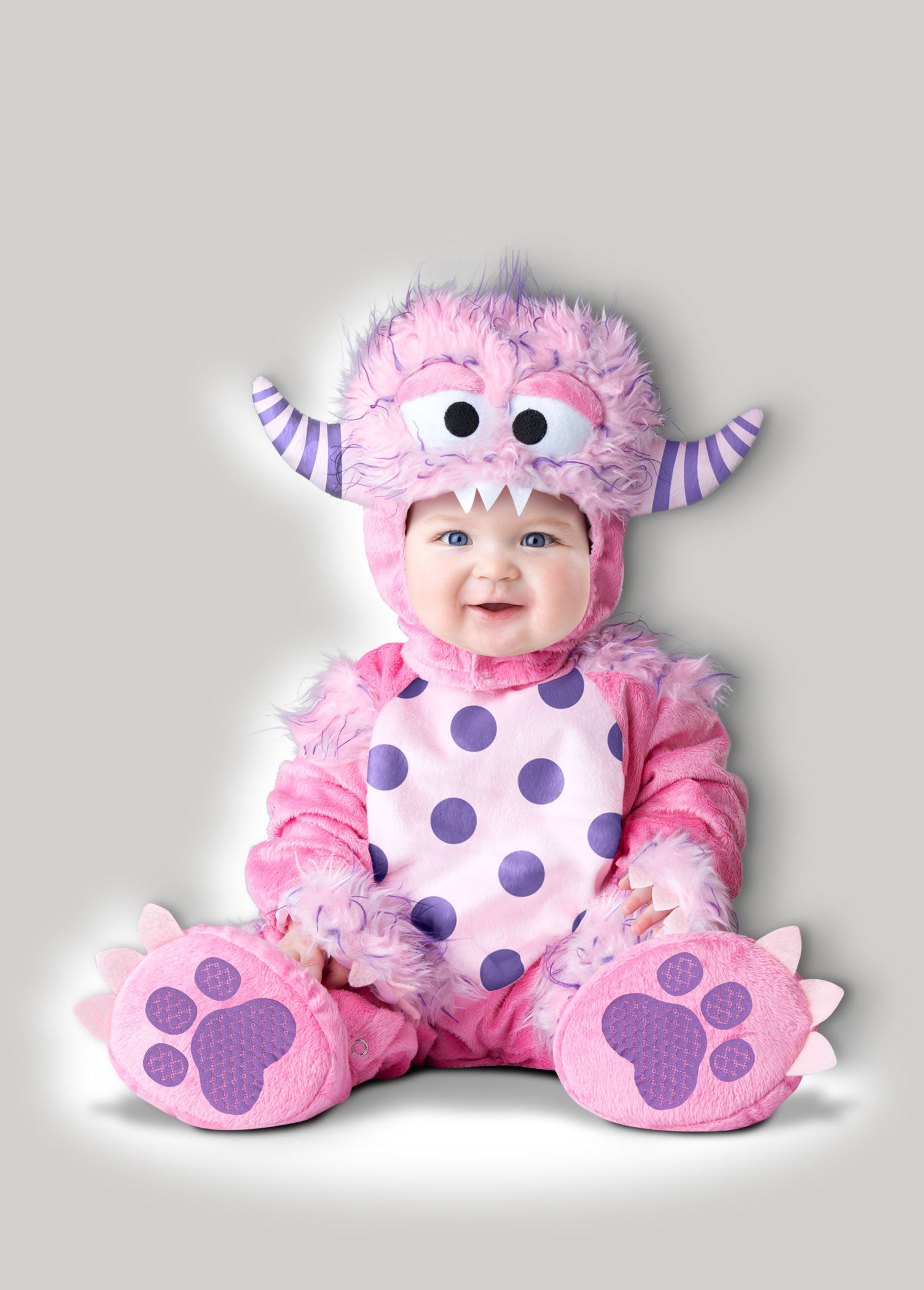 Pink Monster Cute Baby Costume Incharacter Costumes