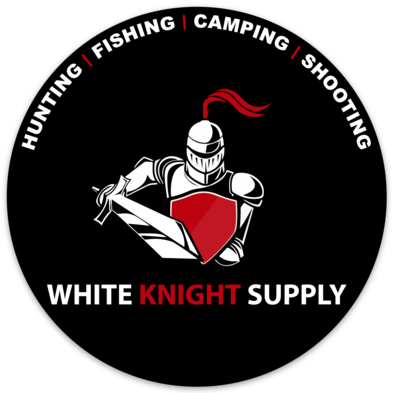 White Knight Supply 4 Inch Sticker
