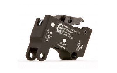 Geissele Automatics IWI Tavor Super Sabra Trigger Two Stage 4.5 LBS NonAdjustable Steel Black 05267