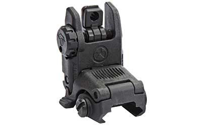 Magpul MBUS AR15 Rear Sight Gen 2 Back Up Flip Up Rear Sight Polymer Black MAG248-BLK