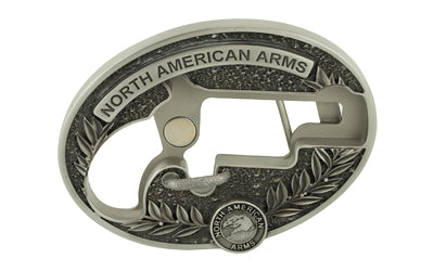 NAA LNG RFL Oval Ornate Belt Buckle