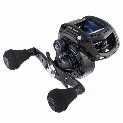 Abu Garcia Revo Toro Beast Low Profile Reel 60, 6.2:1 Gear Ratio, 8 Bearings, 25 lb Max Drag, Right Hand