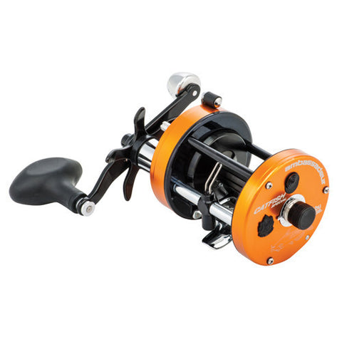 Abu Garcia C3 Catfish Special Round Reel 6500, 5.3:1 Gear Ratio, 4 Bearings, 15 lb Max Drag, Right Hand
