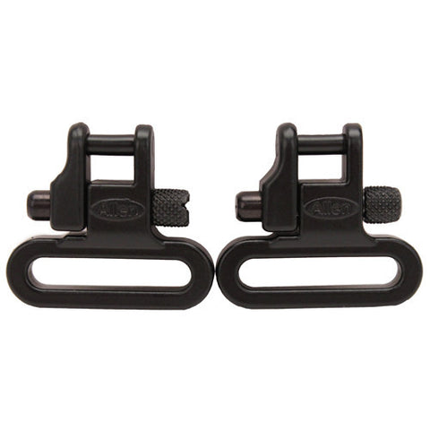 "Allen Cases Sling Swivel Set Magnum, 1"" Cast, Black"
