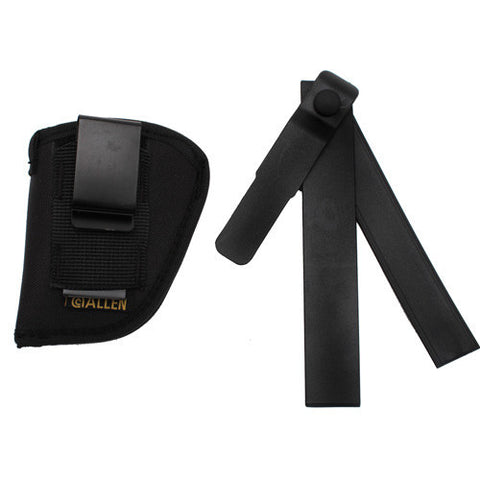 "Allen Cases Ambidextrous Hip Holster Up to 2 1/4"", Black"