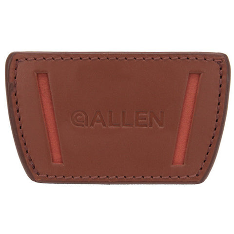 Allen Cases Glenwood Belt Slide Leather Holster Medium, Brown