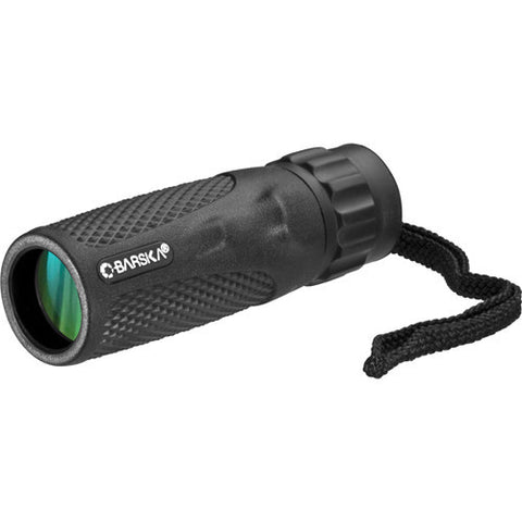 Barska Optics  Blackhawk Monocular 10x25mm WP, BK-7 Prism, Green Lens