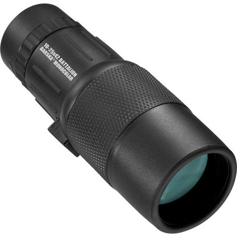Barska Optics Battalion Monocular 10-25x42mm Bak-4, FMC