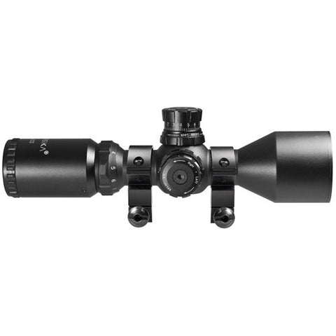 Barska Optics Contour Scope 3-9x42 Illuminated, Mil-Dot Dual Color