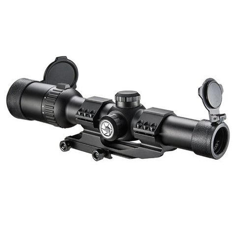 Barska Optics AR6 Riflescope 1-6x24 Illuminated, 30mm, Cantiliver Rings