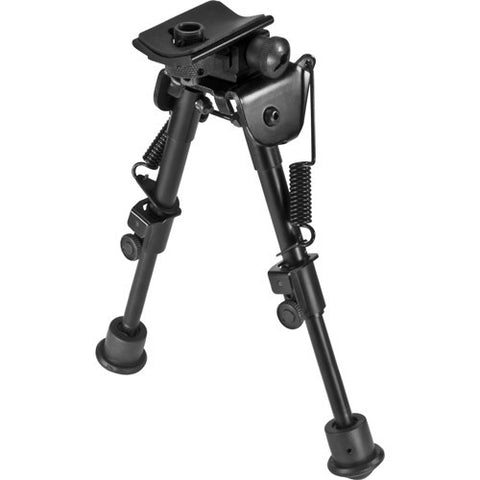 Barska Optics Spring Loaded Adjustable Bipod Standard
