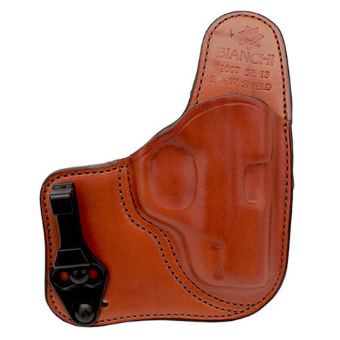 Bianchi 100 Professional Holster Size 13, SW MP 9mm Shield, Right Hand, Tan