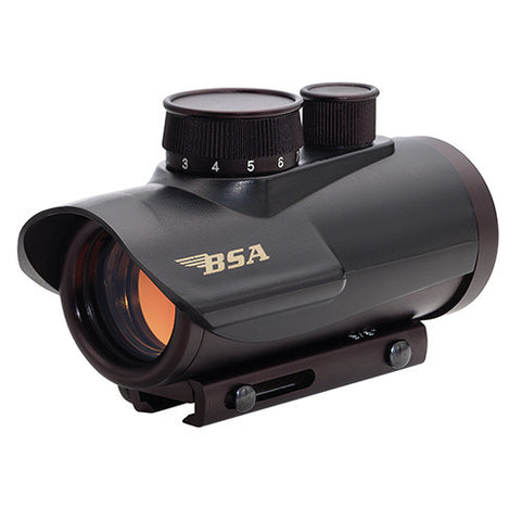 BSA 30mm Red Dot, 5 MOA Dot, Clam Pack