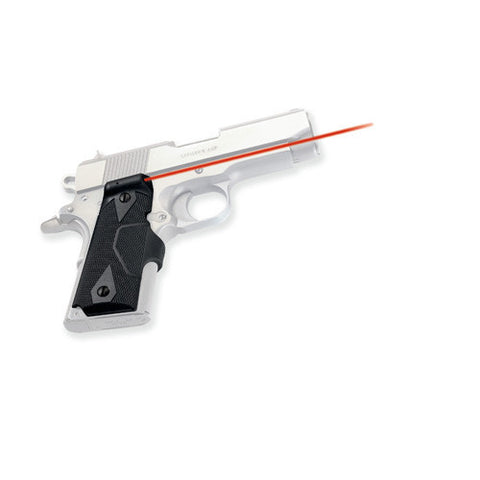 Crimson Trace 1911 Officer's/Compact/Defender Overmold Wrap, Front Activation