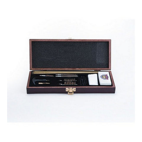 Gunmaster 18 Piece Universal Gun Cleaning Kit Wooden Case