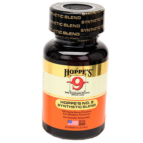 Hoppes No 9 Synthetic Blend Gun Bore Cleaner 5 oz, Clam Pack