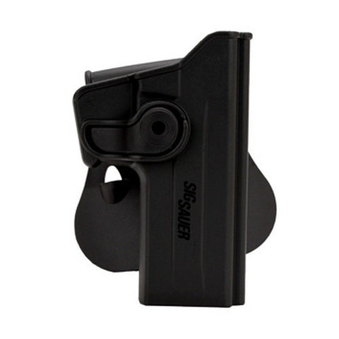 SigTac Retention Roto Paddle Holster P226 w/Rail, Black Polymer