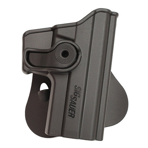 SigTac Retention Roto Paddle Holster P250 Compact, All Calibers, Black Polymer